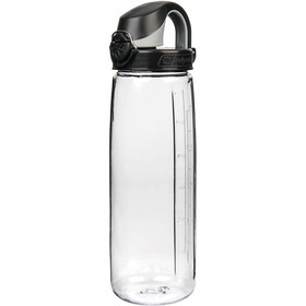 Nalgene Everyday OTF Drikkeflaske 700ml, transparent/black